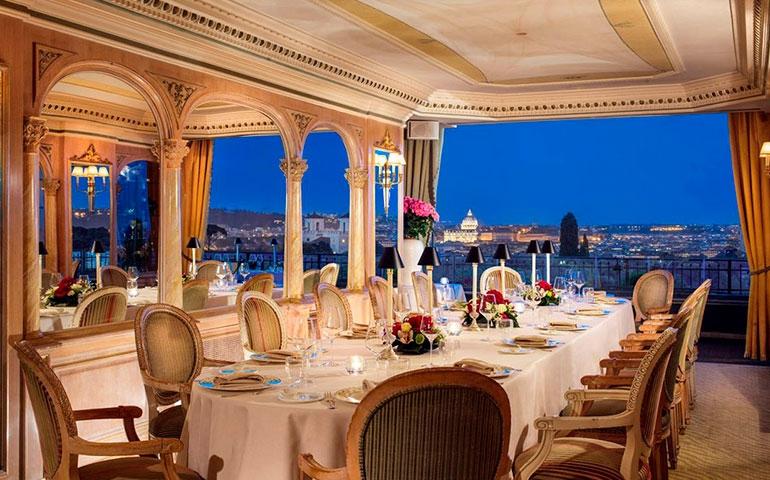 Una cena a 4 mani con gli chef Marzetti e Pascucci al Mirabelle di Roma