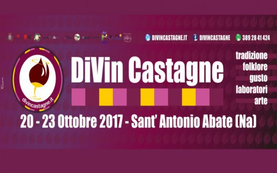 Divin Castagne, dal 20 al 23 ottobre Sant'Antonio Abate diventa capitale della cucine