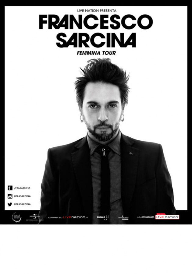 "Francesco Sarcina torna in tour con ""Femmina"""