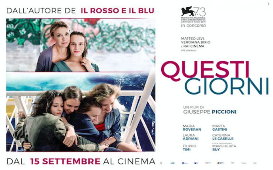 Questi giorni, un film di Giuseppe Piccioni: le donne, come sempre, ci fanno innamorare