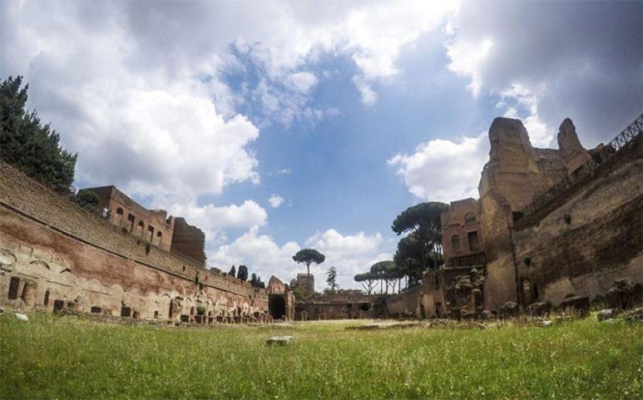 Palamede, la storia: Alessandro Baricco allo Stadio di Domiziano al Palatino, Roma