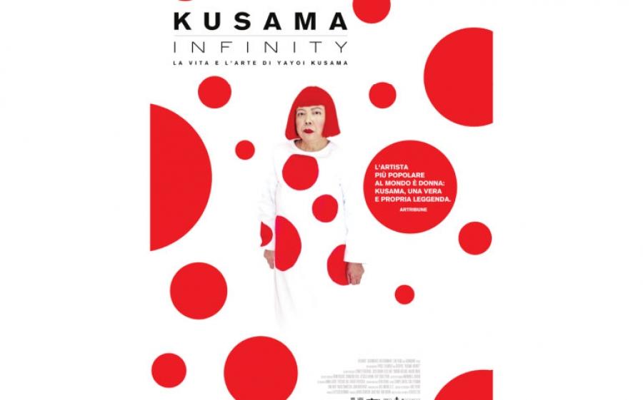 Kusama infinity – il documentario sulla vita dell'artista giapponese Yayoi Kusama
