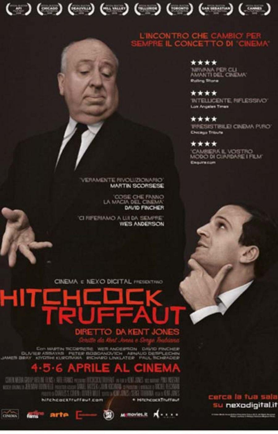 HITCHCOCK/TRUFFAUT: i maestri allo spazioCinema