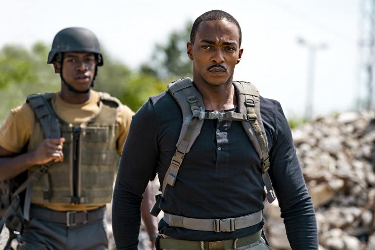 Outside the Wire: da oggi il nuovo film Netflix sci-fi con Anthony Mackie