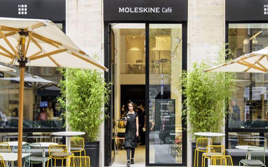 Moleskine Cafè a Milano: tra taccuini e profumo di caffè