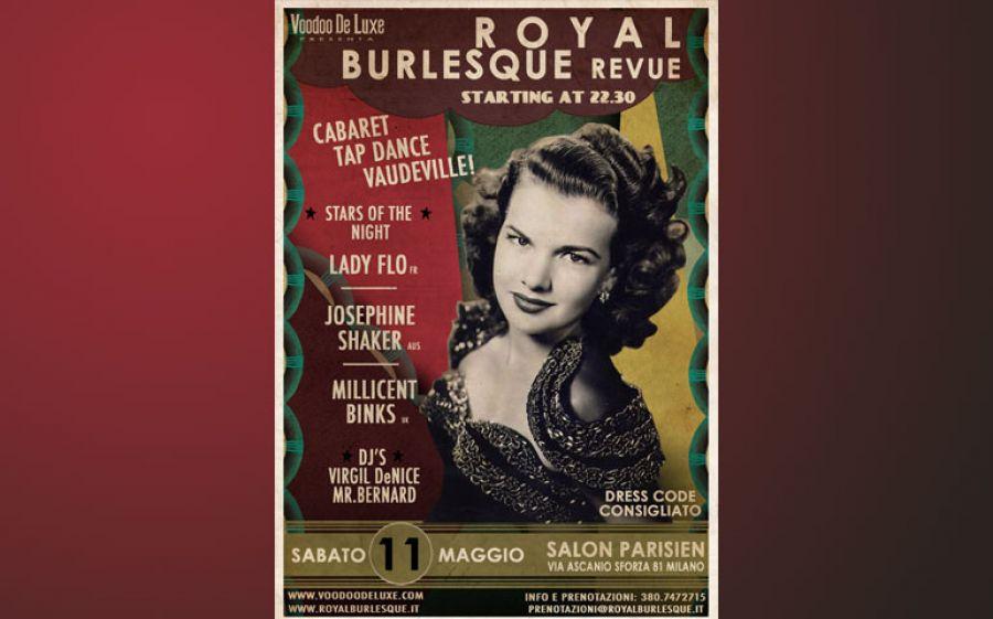 Questo sabato Milano è Burlesque!