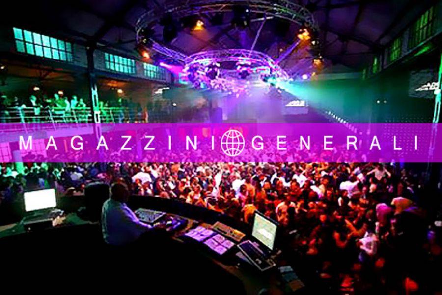 Il Mercoledì dei Magazzini con Gigi D'Agostino