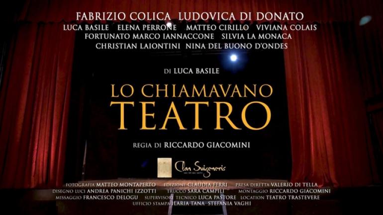 """#unannosenzaeventi """"Lo chiamavano Teatro"""""""
