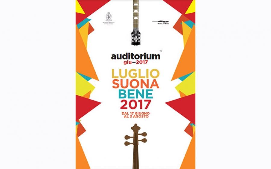 All'Auditorium Parco della Musica di Roma torna Luglio Suona Bene