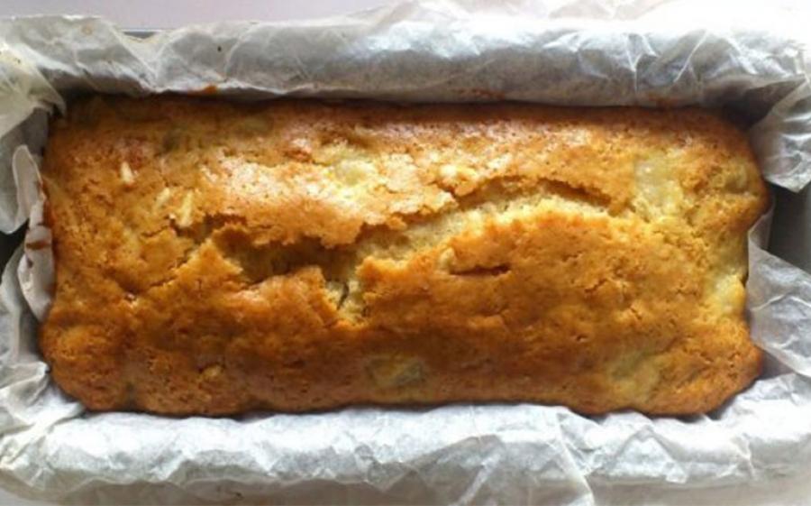 Bettinaincucina: Plumcake vegano alle pere, vaniglia e mandorle