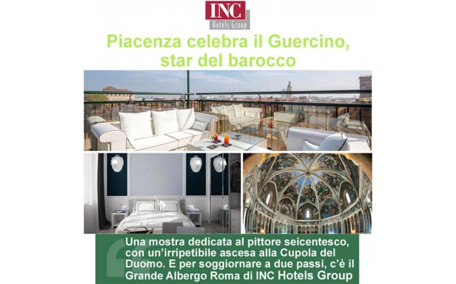Fino al 4 giugno Piacenza celebra il Guercino e per un soggiorno a quattro stelle non c'è nulla di meglio che il Grande Albergo Roma