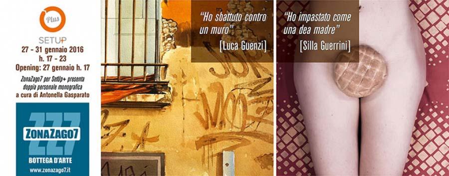A Bologna, la doppia mostra di LUCA GUENZI E SILLA GUERRINI