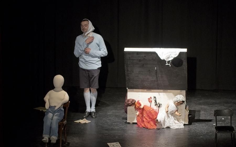 Boccaperta, il testo di Tommaso Urselli in scena al Pacta Salone