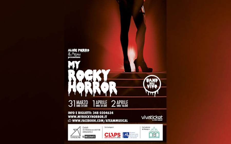 My Rocky Horror, tre nuove date al Teatro Delfino di Milano
