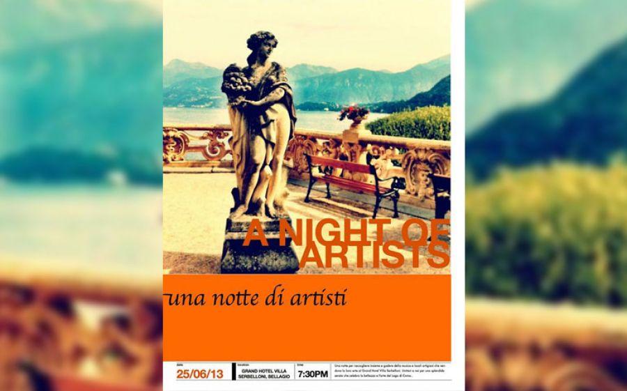 """""""A Night of Artists"""" sul Lago di Como"""
