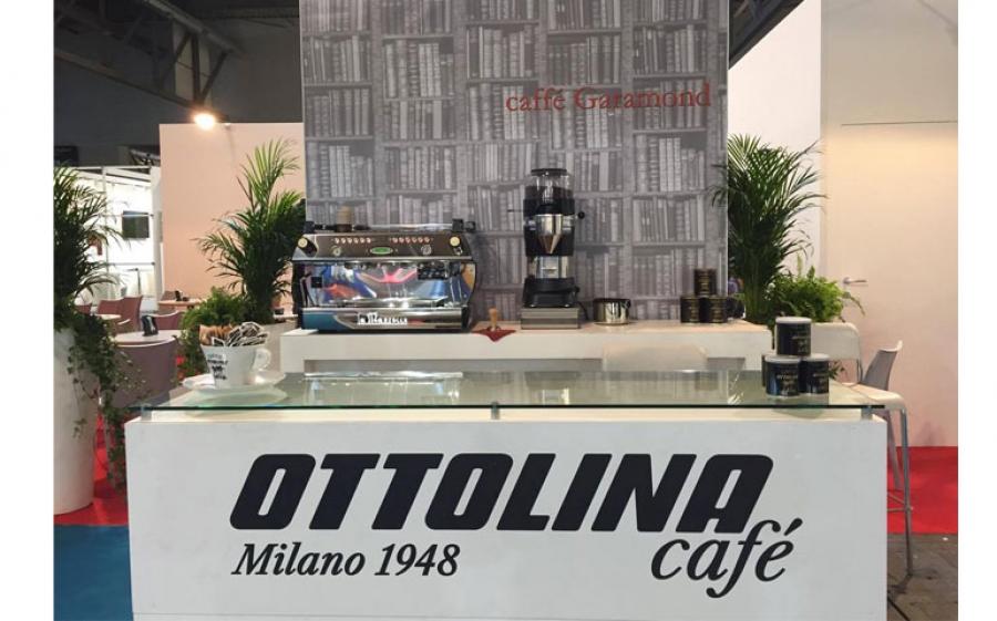 A Fiera Milano Rho Caffè Garamond è l'area firmata Caffè Ottolina per Tempo di Libri