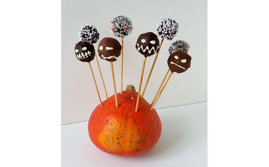 Cake Pops con marmellata di zucca, la ricetta di Bettina in Cucina per Halloween