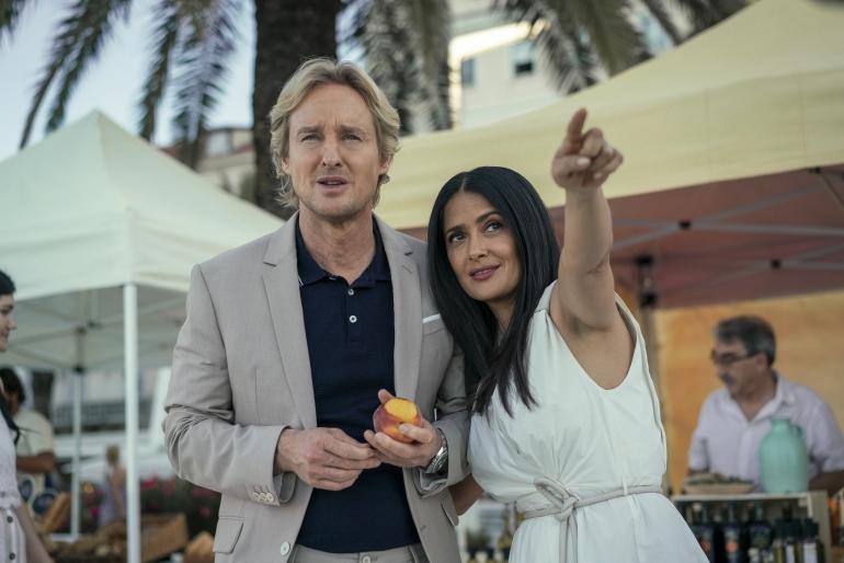 In arrivo su Prime Video Bliss, il nuovo film sci-fi con Owen Wilson e Salma Hayek