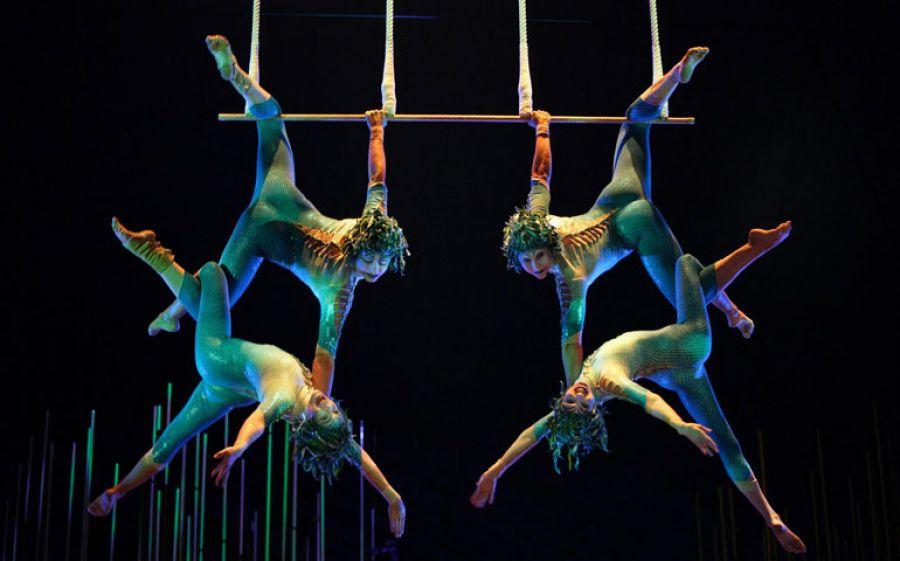 Il Cirque du Soleil a Milano con Verakai