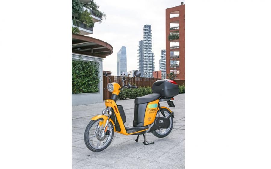 A Milano l'idea di sharing made in Italy ecosostenibile viaggia su due ruote e si chiama MiMoto