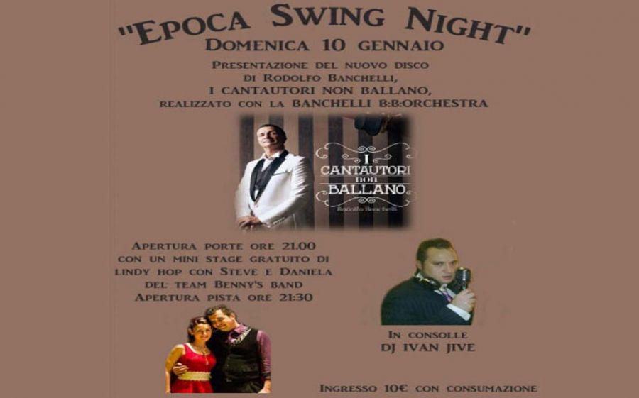 Epoca Swing Night: Un party tutto da ballare