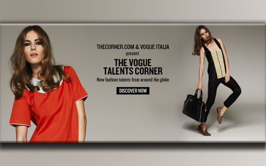 We love The Vogue Talents Corner