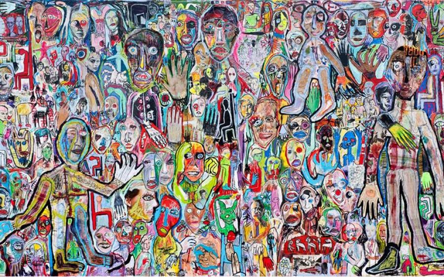 La pittura istintiva e viscerale di Precisi, specchio di un'epoca di afflizione e tormento