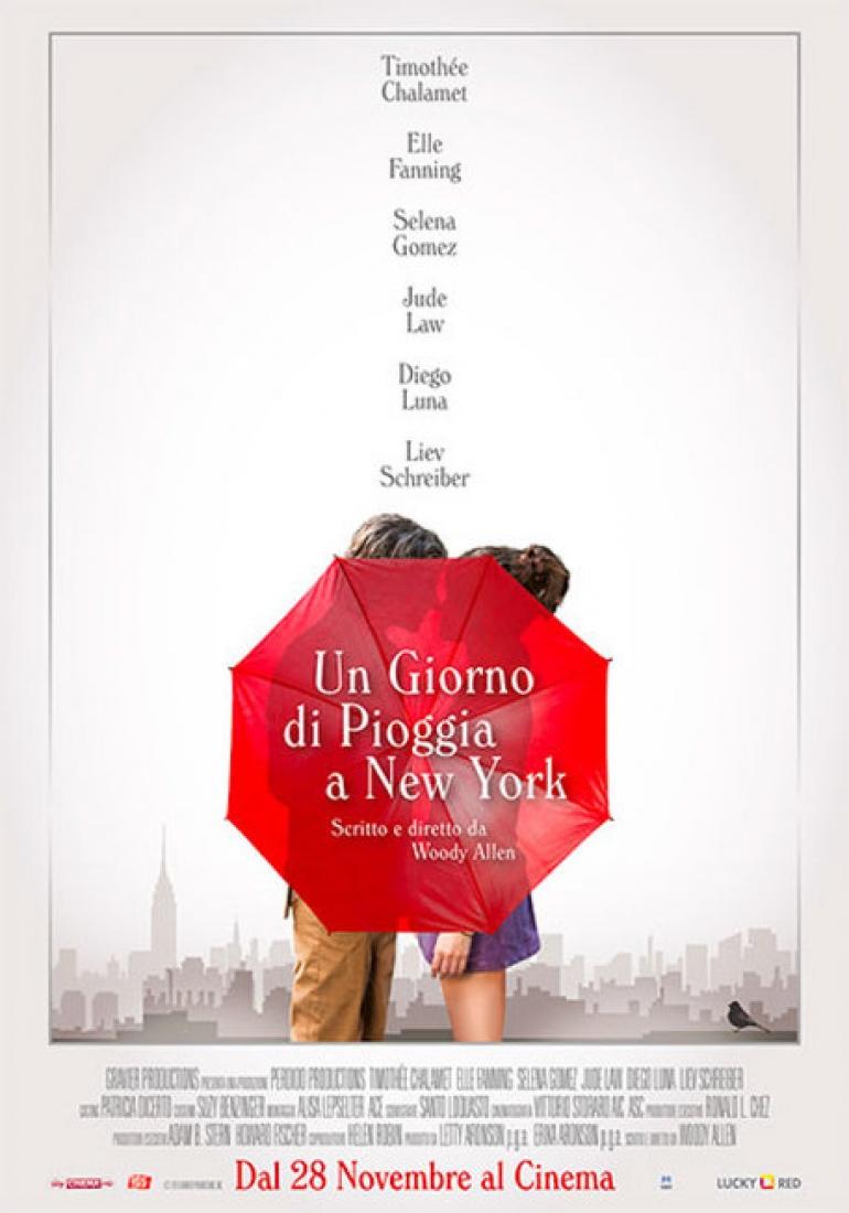Woody Allen torna con Un giorno di pioggia a New York