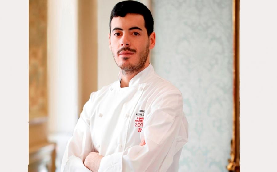 L'executive chef Andrea Asoli